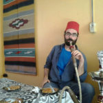 typical gastronomy and shisha pipe
