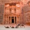 The Treasury (Al Khazneh), Petra (UNESCO world heritage site), Jordan.