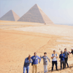 tour of the pyramids of Egypt