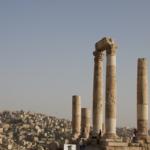 famous ruins of Amman, Jordan