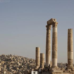 the Roman Temple of Hercules, Amman