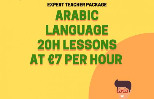 Arabic course 20h 2020